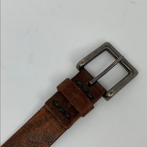 Abercrombie and Fitch Leather Distressed Belt 30
